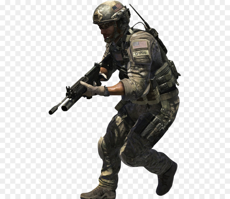 Call Of Duty Modern Warfare 3 Fusilier png download - 521*780 - Free