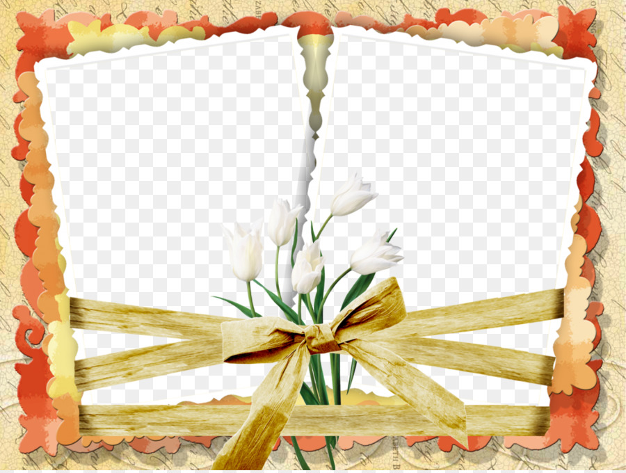 Picture Frames Flower - Wedding Floral Frame Romantic Png png ...