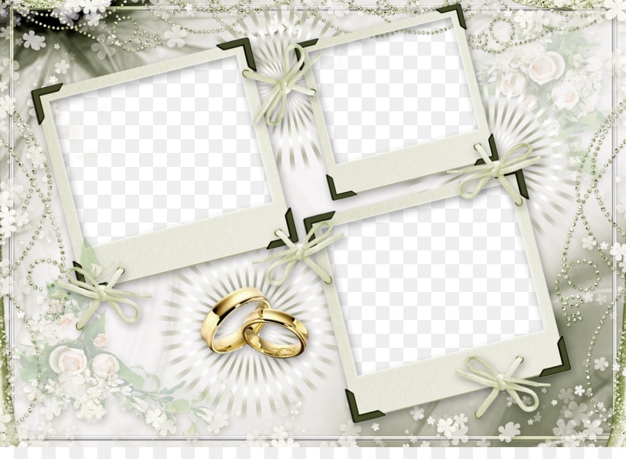 Wedding Picture Frames Marriage - Wedding Photo Frame Png png ...