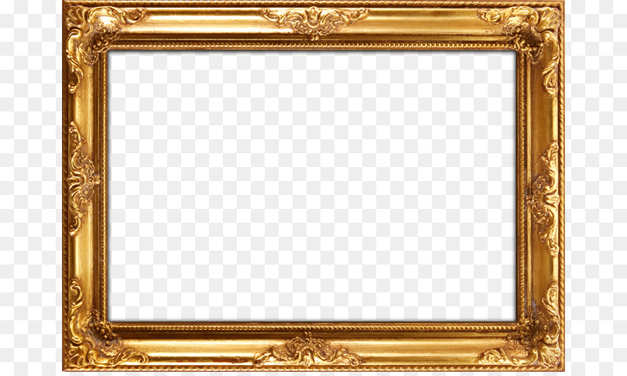 Picture Frames Mirror Painting Wood Gold leaf - Frame Gold ...