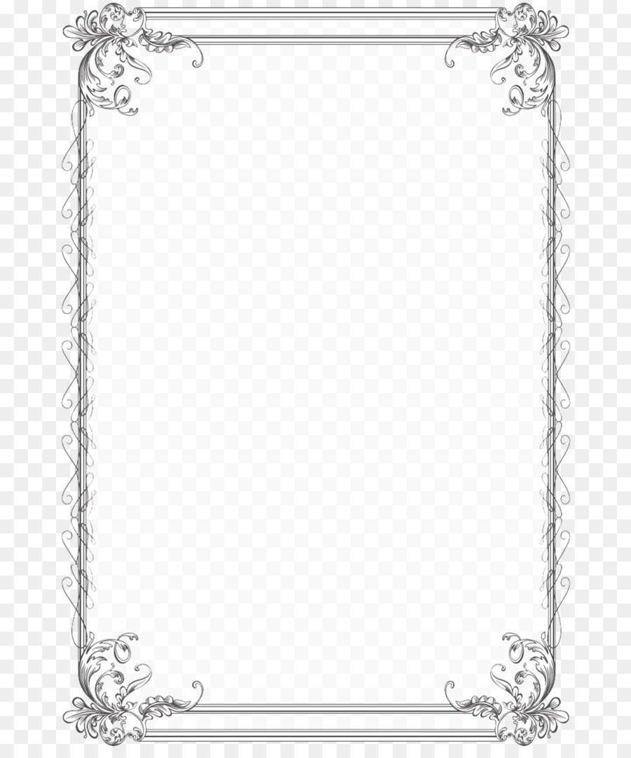 Wedding Invitation Borders And Frames Picture Frames Paper Clip Art