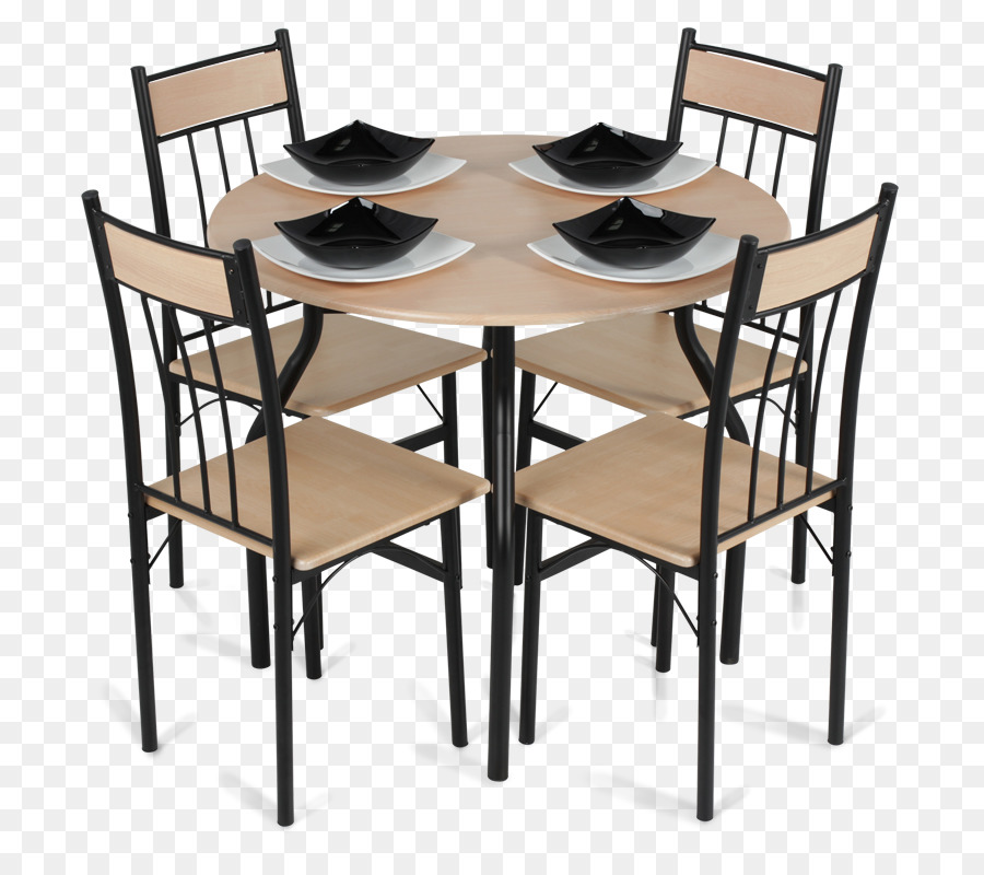 Table Chair Dining Room Matbord Furniture Set With 4 Chairs Png