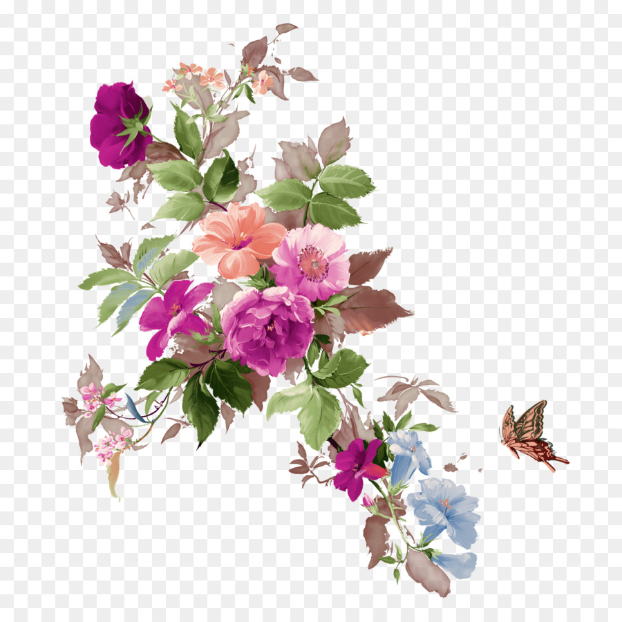 Flower Bouquet Clip Art Png Free Download Flower Png Download
