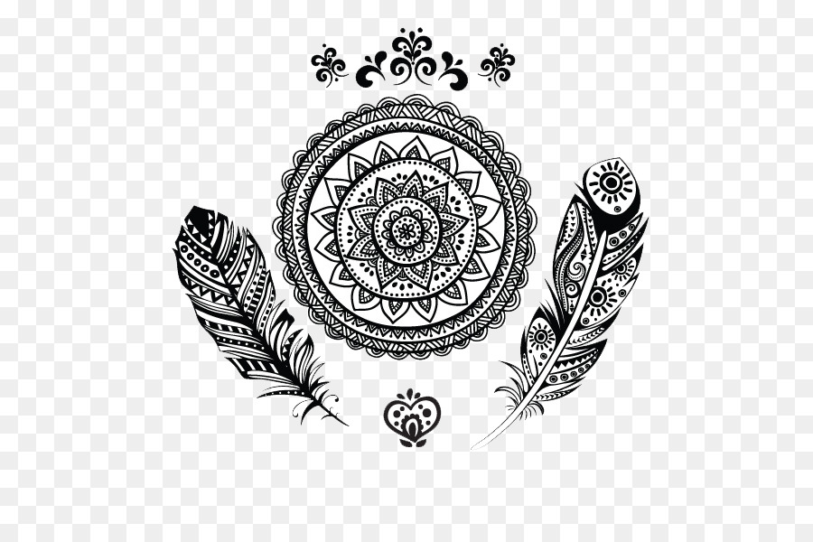 Be Here Now Tattoo Mandala Tattoos Transparent Hd Png Background
