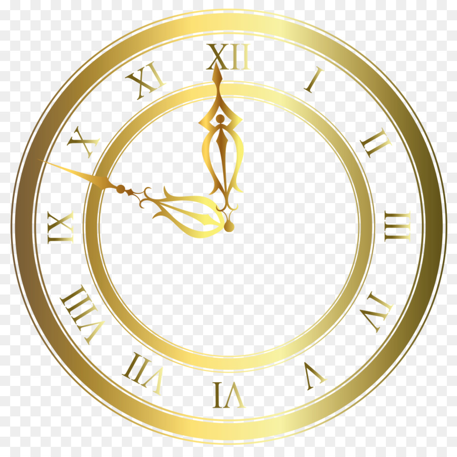 Clock Home Accessories Png Download 894 894 Free