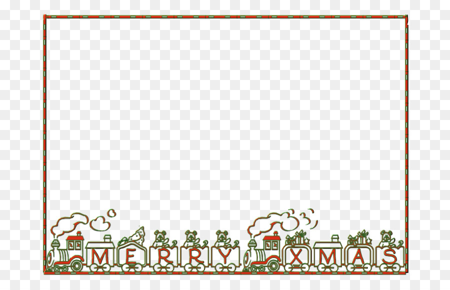 Picture Frames Christmas ornament Pattern - Image PNG Xmas Frame png ...