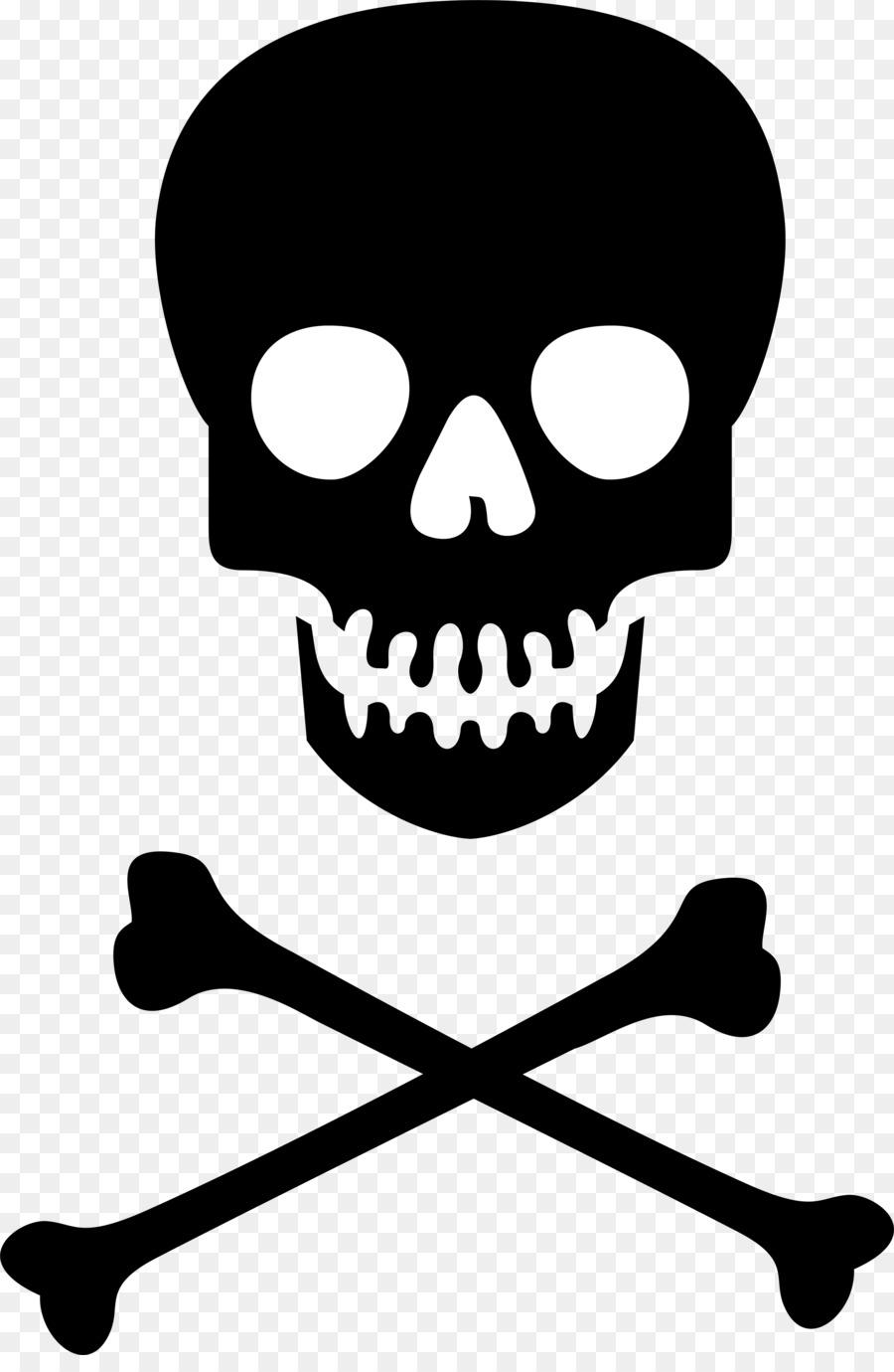 Hazard Symbol Skull And Crossbones Poison Clip Art Skull And