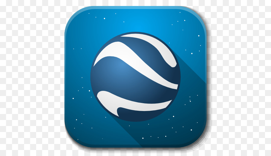 space sky aqua planet sphere - Apps Google Earth png download - 512 on