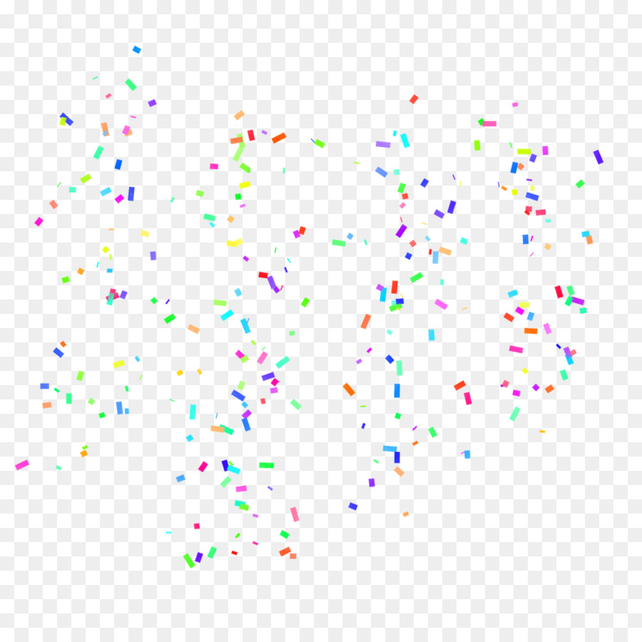 Confetti falling. Cartoon png download free