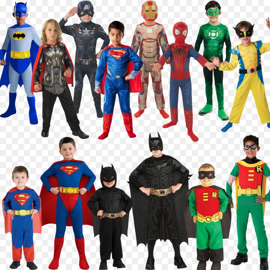 batman robin superman superhero costume party - halloween costumes