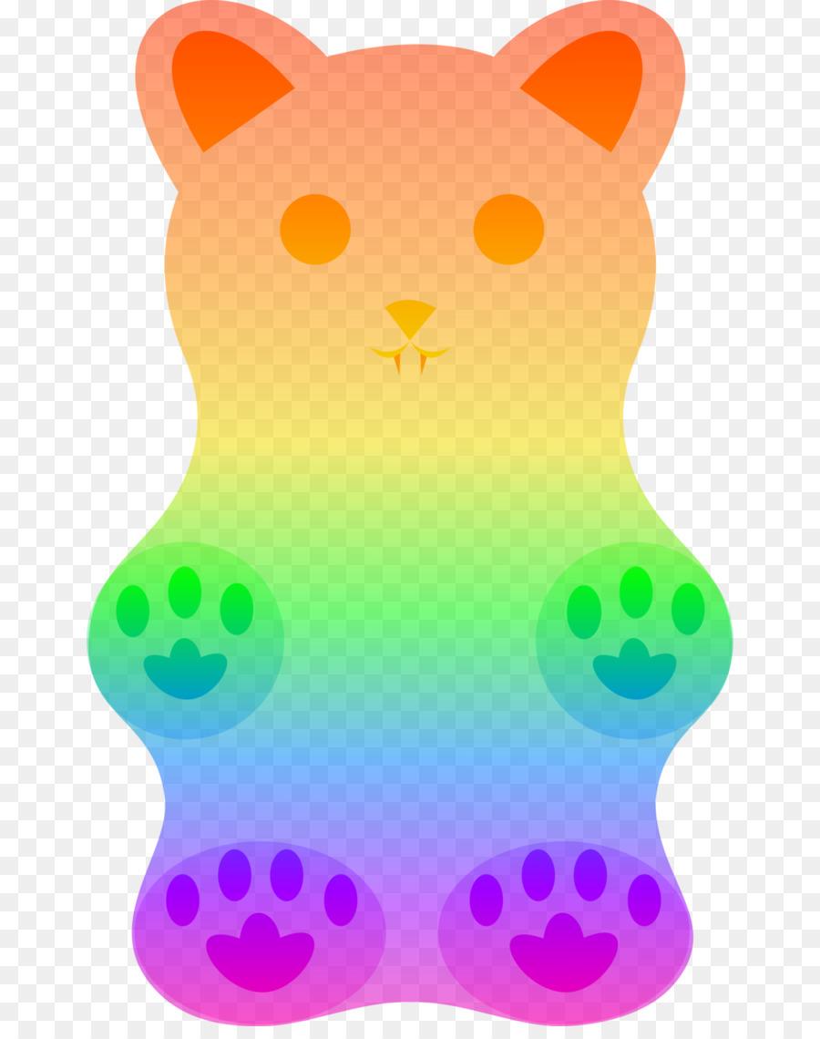 Gomitas de oso Gummy candy Clip art - Gummy Bear Fondo Transparente ...