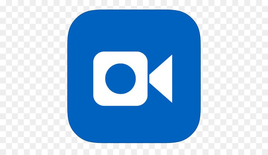 Blue Area Text Symbol Metroui Apps Ios Facetime Png Download 512