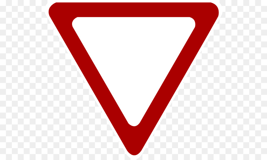 Yield sign Traffic sign Stop sign Warning sign Clip art - Blank ...