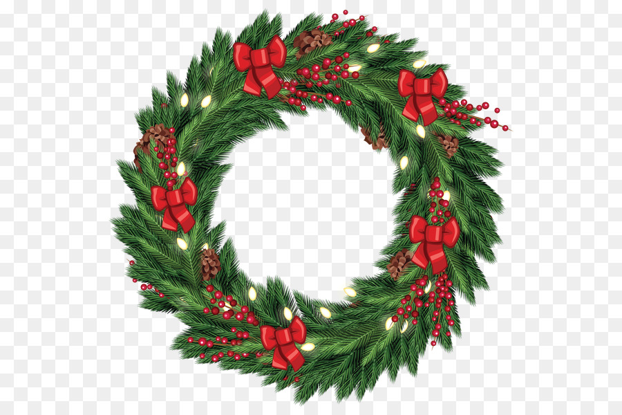 wreath christmas decoration garland clip art download free christmas wreath png - Christmas Decoration Images Free