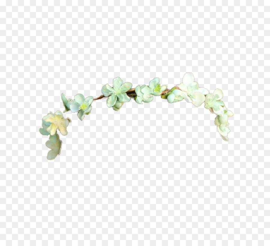 Couronne Couronne De Fleurs Guirlande Bandeau Tumblr Transparent