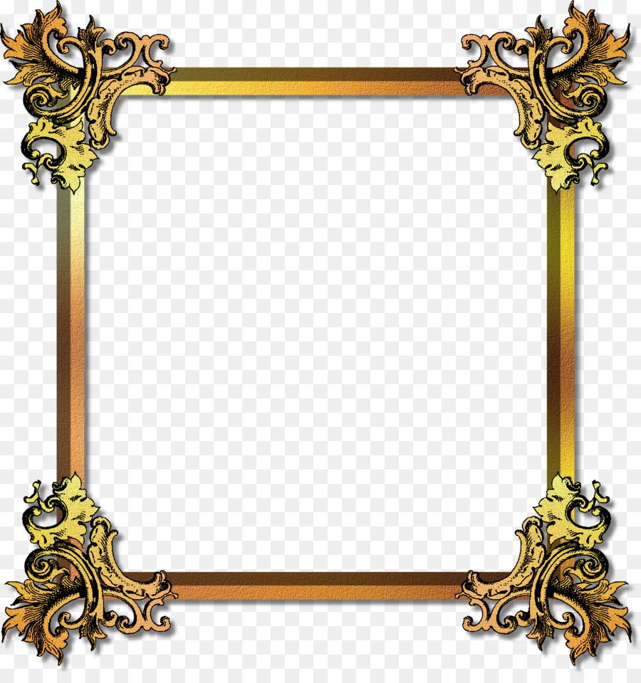 Picture Frames Gold Film frame - Best Free Frame Gold Png Image png ...