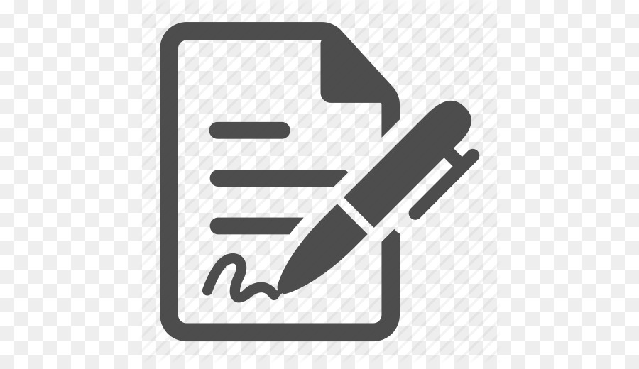computer icons contract signature