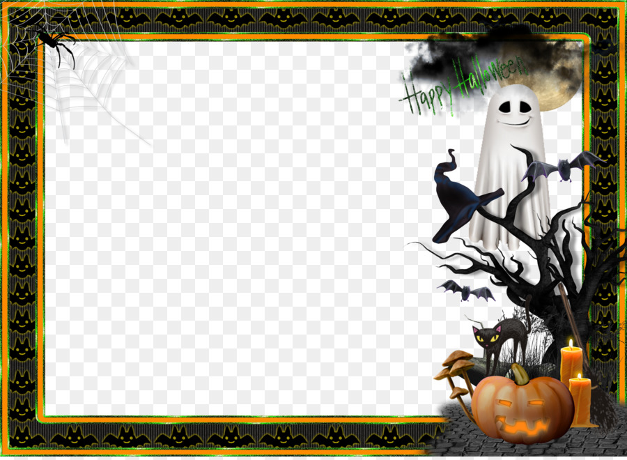 Halloween Picture Frames Decorative Arts Craft Clip Art Free