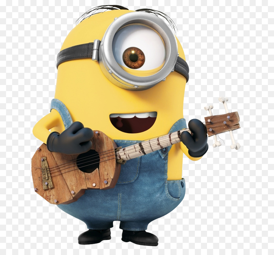 Stuart The Minion Bob The Minion Scarlett Overkill Wikia Despicable Me    Minion With Guitar Png