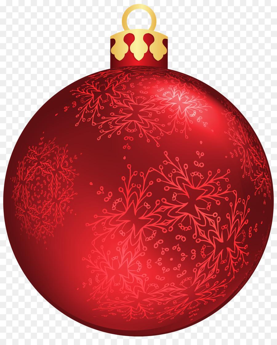 christmas ornament christmas decoration clip art red christmas balls png - Red Christmas Balls