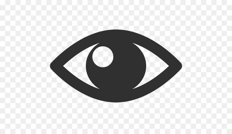 Symbol Black Logo Eye Png Download 512512 Free Transparent