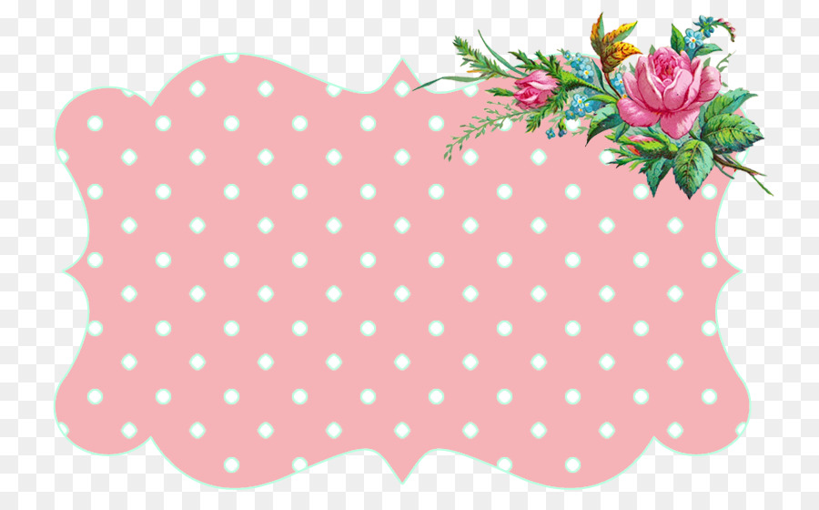 Picture Frames Pink Flowers Clip Art