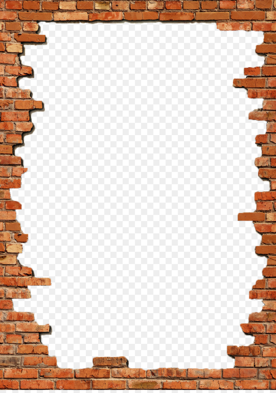Brick Picture Frames Wall Stock photography - Bricks Frame Png png ...