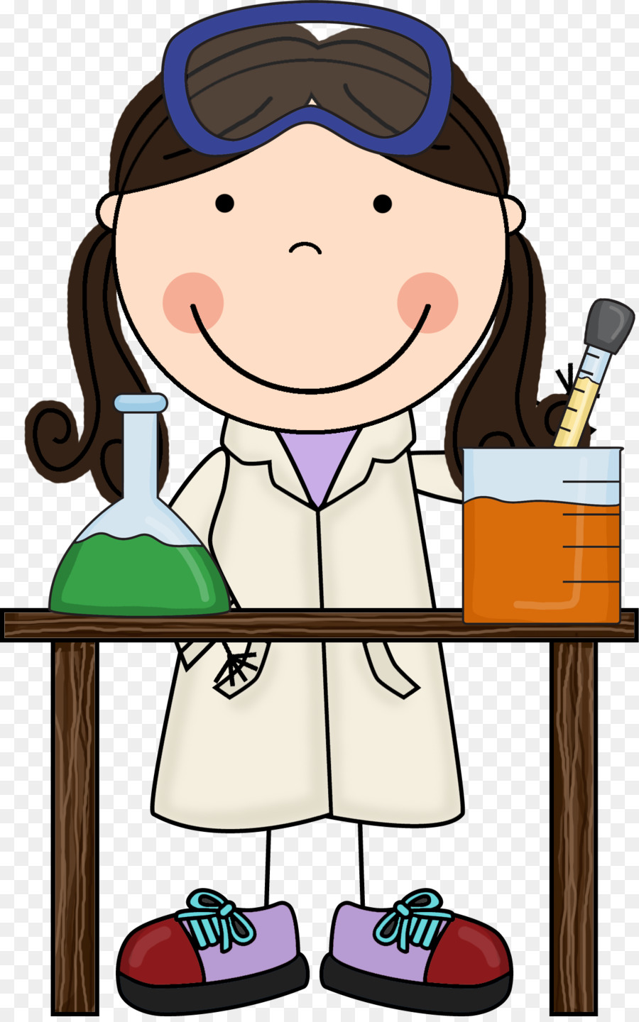 scientist science fair child clip art scrappin doodles cliparts rh kisspng com science fair clipart free science project clipart