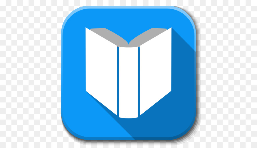 Google Play Books Blue png download - 512*512 - Free Transparent