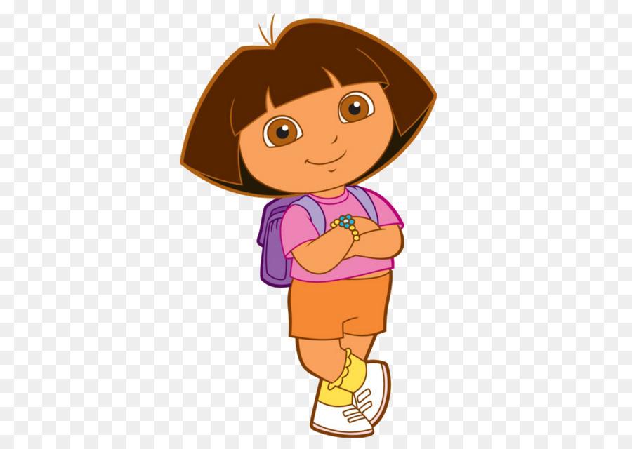 Dora Animated Cartoon Character Clip Art