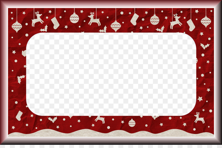 Christmas Picture Frames New Year Craft Clip art - PNG Photo Xmas ...