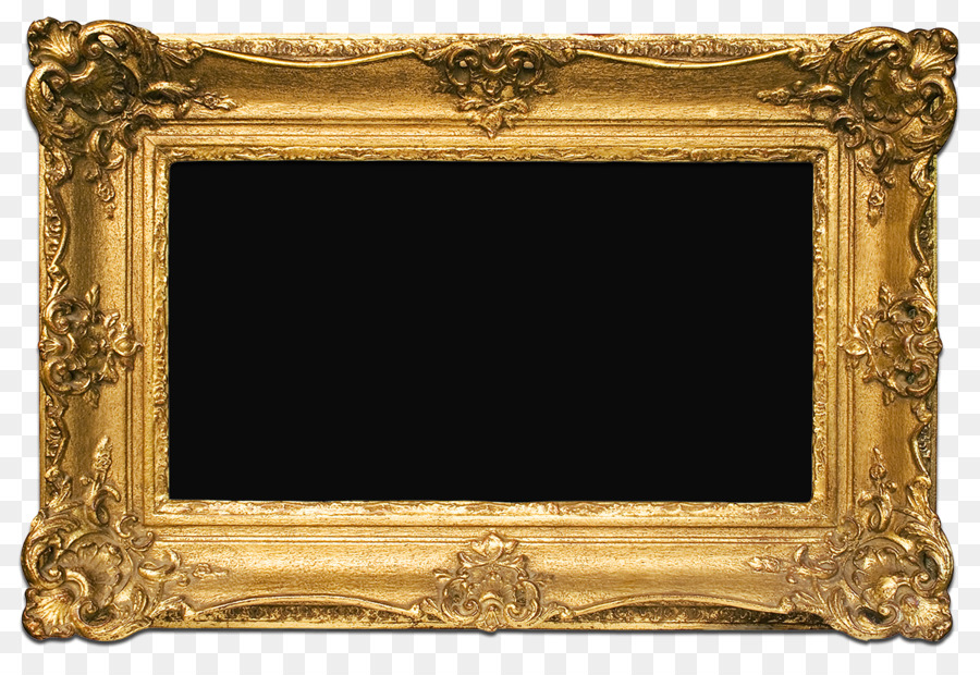 Picture Frames Gold Decorative arts - PNG Free Frame Gold Download ...