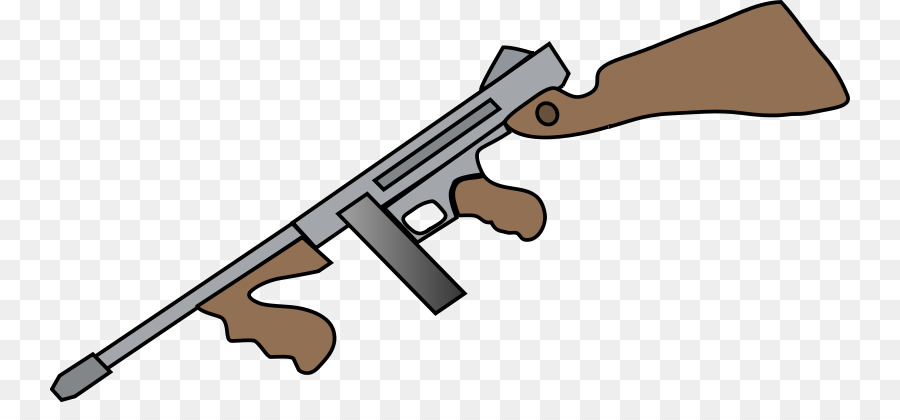firearm shotgun drawing thompson submachine gun clip art tommy gun rh kisspng com gun clipart images guns clipart black and white