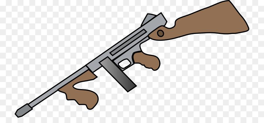 firearm shotgun drawing thompson submachine gun clip art tommy gun rh kisspng com gun clip art firearms gun clip art free images