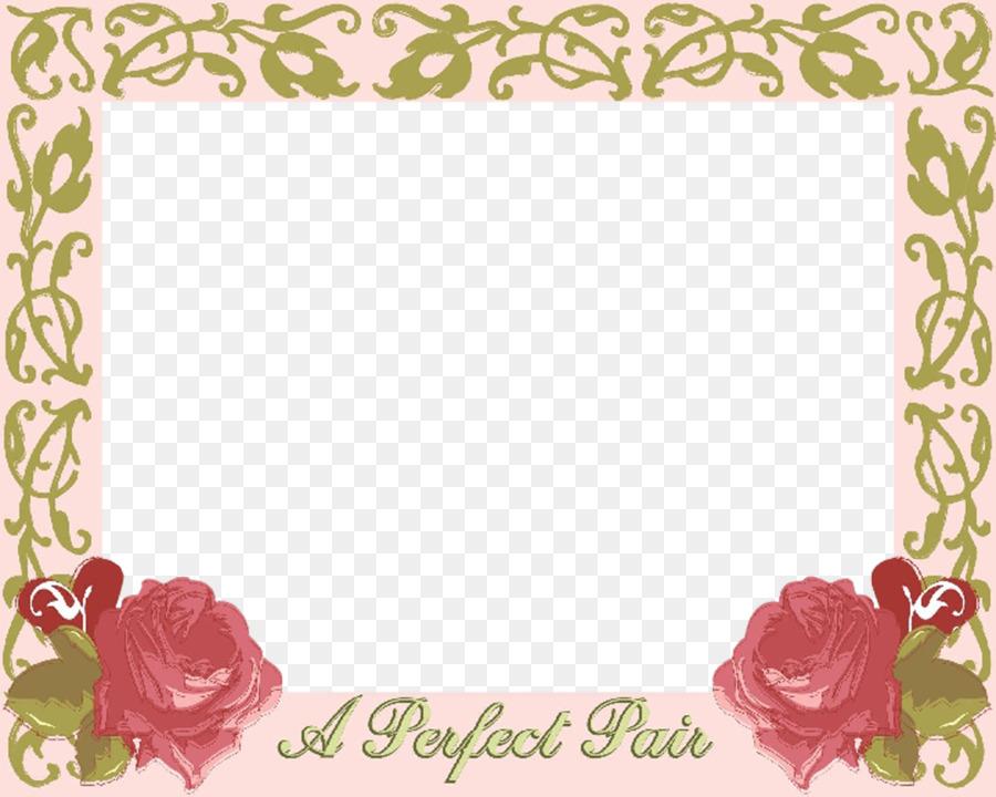 wedding invitation picture frames garden roses image png