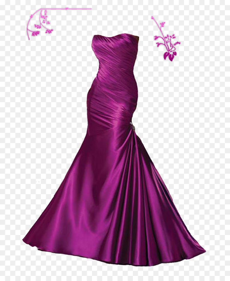 Vestido de novia Vestido de fiesta de Graduación - Vestido Morado ...