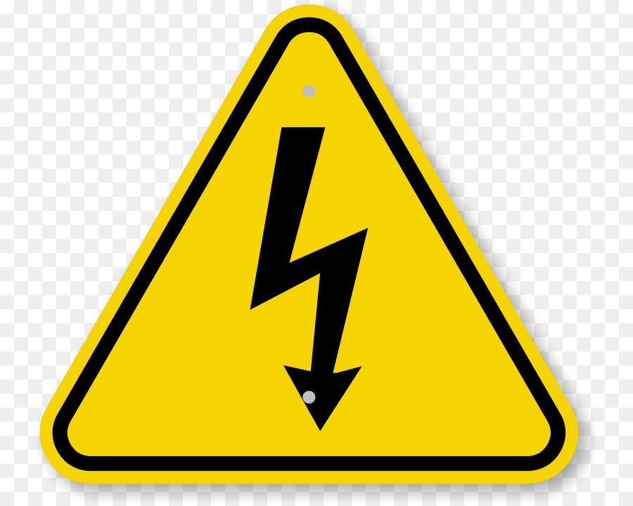 High Voltage Hazard Symbol Sign Caution Triangle Symbol Png