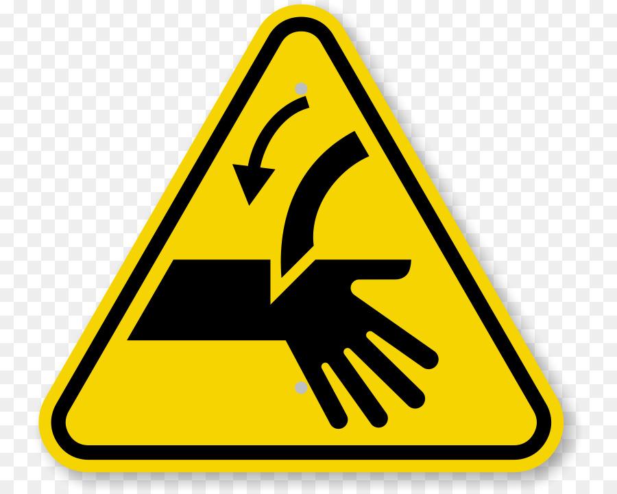 Warning Sign Symbol Finger Hazard Caution Triangle Symbol Png