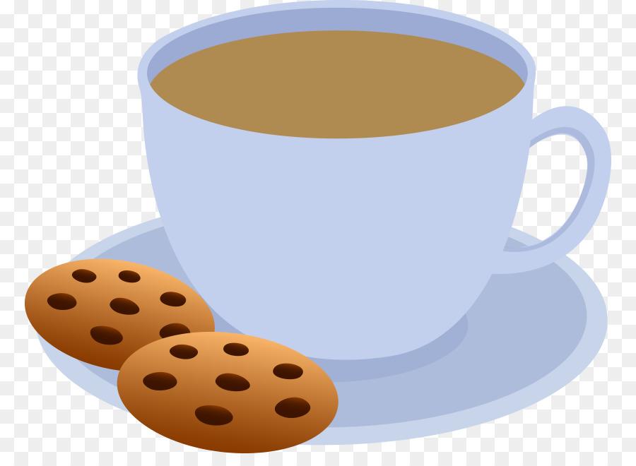 Kaffee Kuchen Schokolade Chip Cookie Clipart Transparente Cliparts