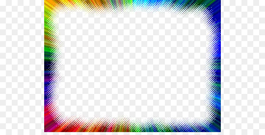 Light Color Picture Frames Rainbow Clip art - Color Rainbow Cliparts ...