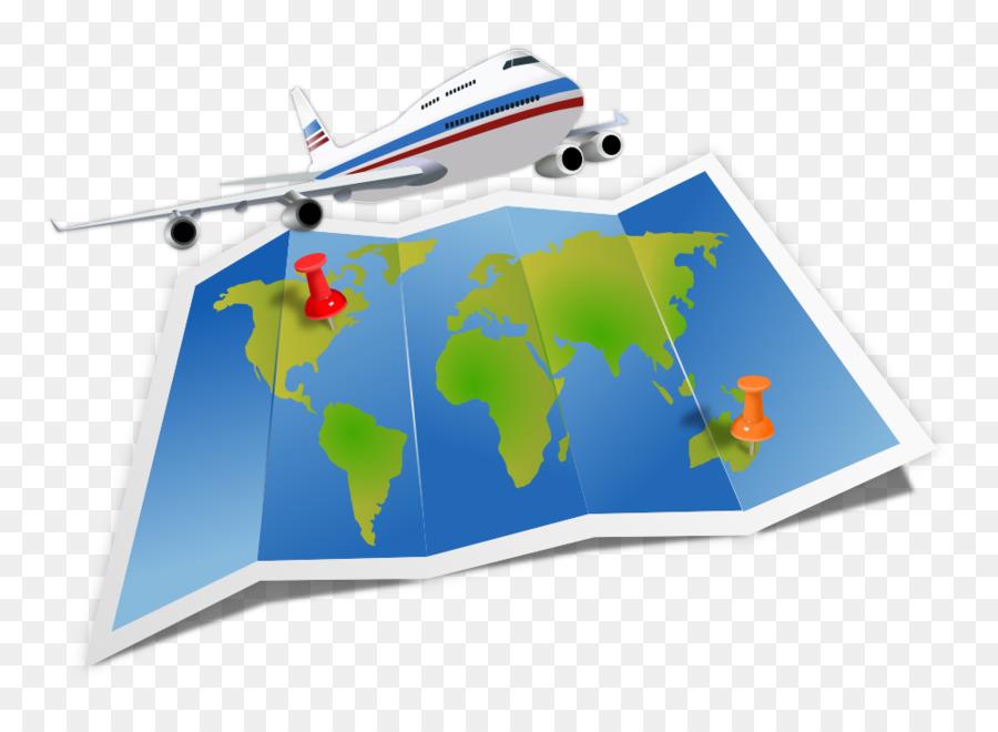 Travel Agent Flight Clip Art