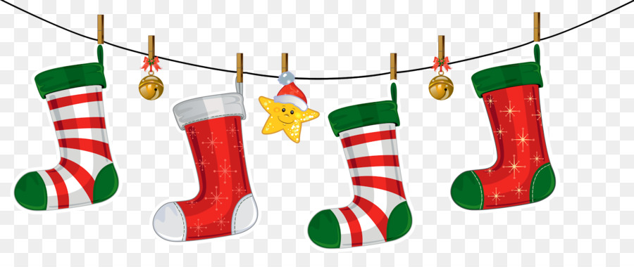Christmas Stockings Cartoon.Christmas Decoration Cartoon Png Download 1600 652 Free