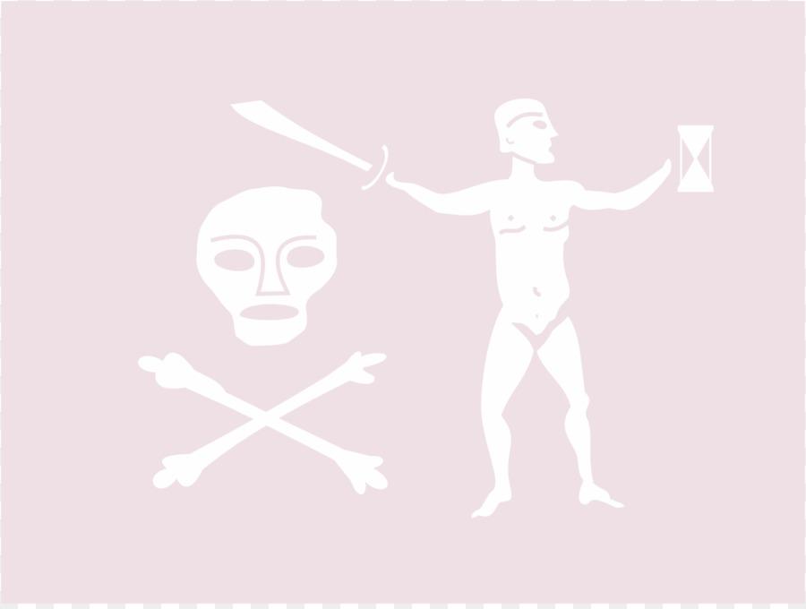 Ortak Parmak Korsan Bayrağı Kol Panama Bayrağı Boyama Sayfası Png