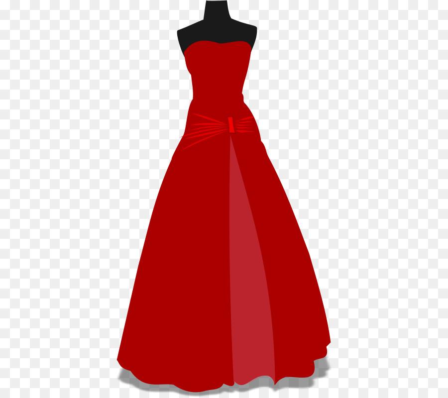 Wedding dress Prom Formal wear Clip art - Fancy Dress Cliparts png ...