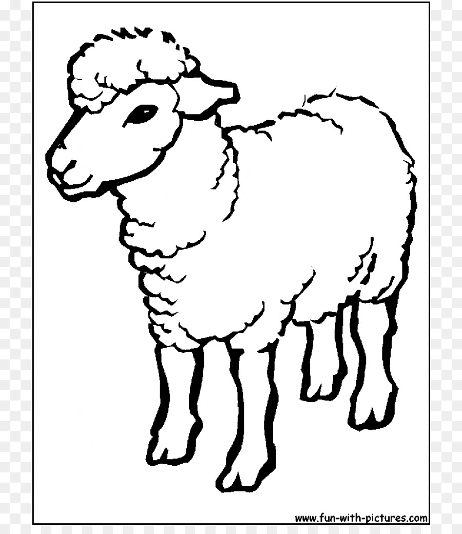 Sheep Coloring Book Princess Kids Drawing