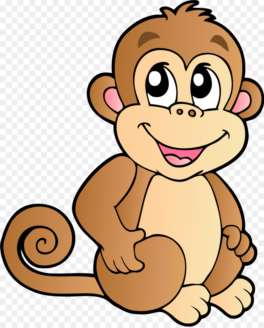 baby monkeys chimpanzee cartoon clip art monkey png download rh kisspng com  chimpanzee clipart free