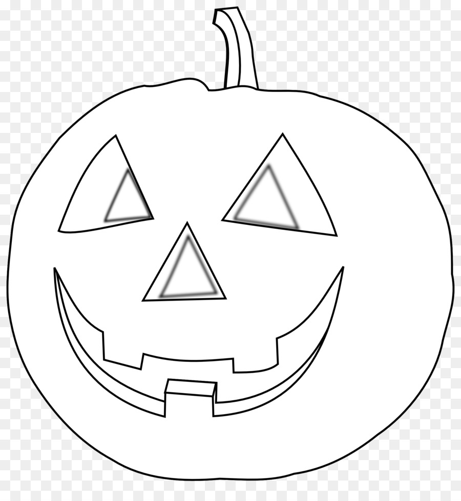 black and white halloween drawing pumpkin clip art - pumpkin blossom