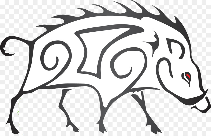 Image result for boar drawing