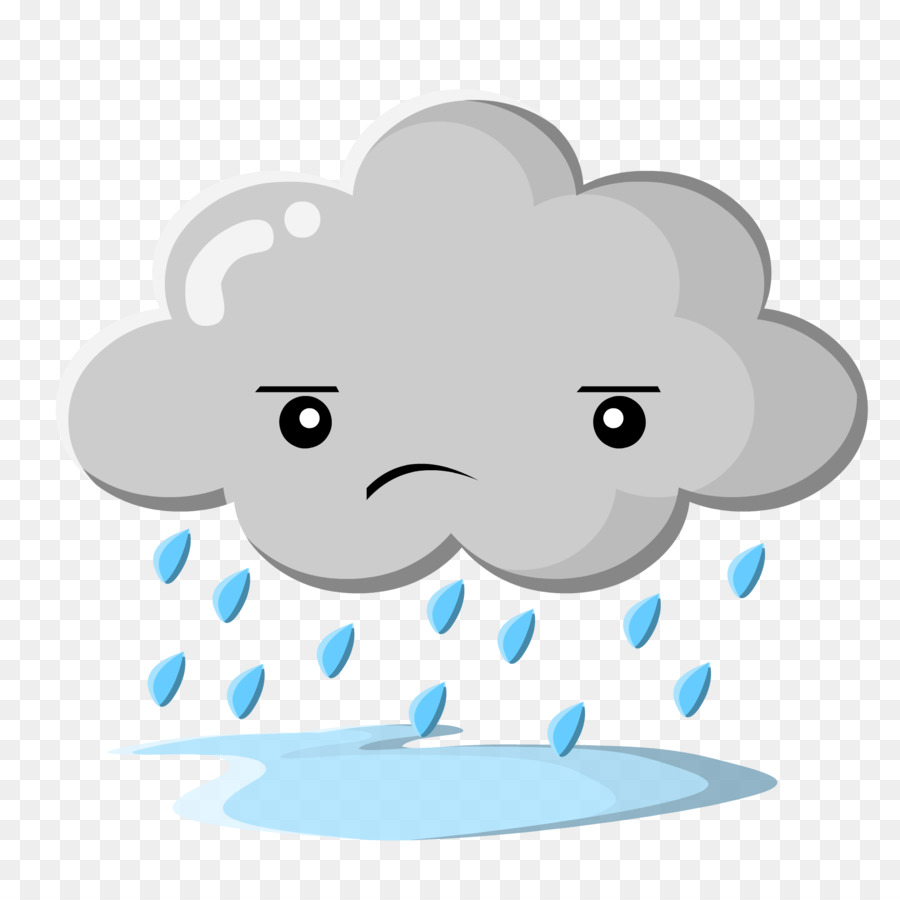 rain cloud clip art rain png download 2000 2000 free rh kisspng com rain cloud cartoon character cartoon character rain cloud overhead