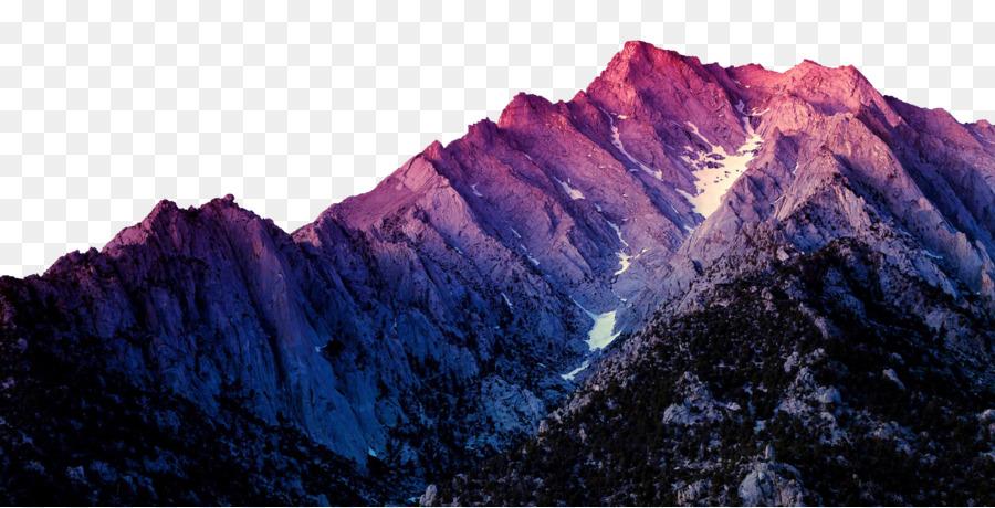Mountain, Desktop Wallpaper, Pink, Massif PNG